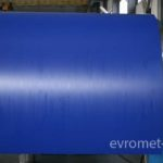 Фото синего рулона стали