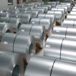 Много рулонов стали