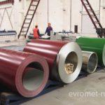 Разноцветная рулонная сталь