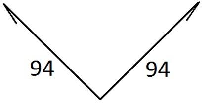Планка ендовы верхняя                  94х94х2000