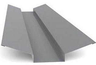 Планка ендовы фигурная 255х20х40х255х2000 мм (цена за шт)