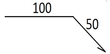 Планка карнизная                          100х50х2000
