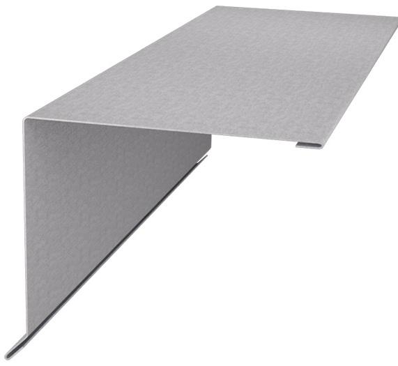 Планка ветровая (торцевая) 145×135х2000 мм (цена за шт)