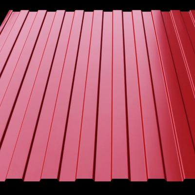 Профнастил МП20 оцинкованный с покрытием полиэстер «Эконом» (цена за метр)