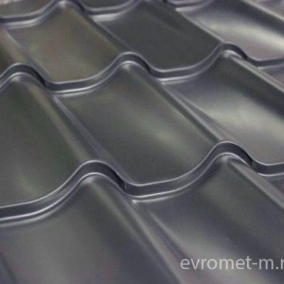 Металлочерепица из оцинкованной стали с полимерным покрытием полиэстер +0.50 мм (цена за метр)